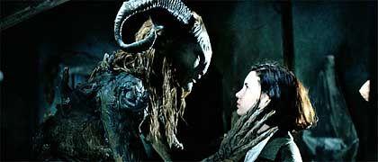 "Szene aus ""Pans Labyrinth"": Ofélia im Wunderland"