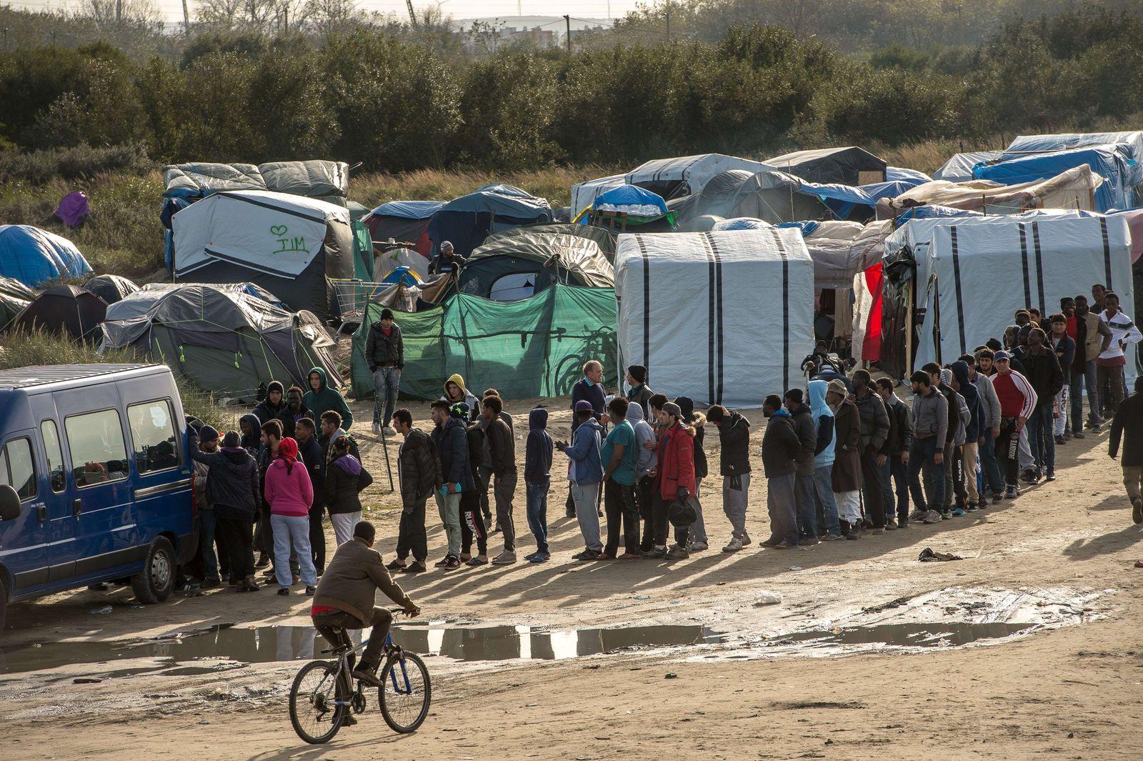 Calais Flüchtlinge Dschungel