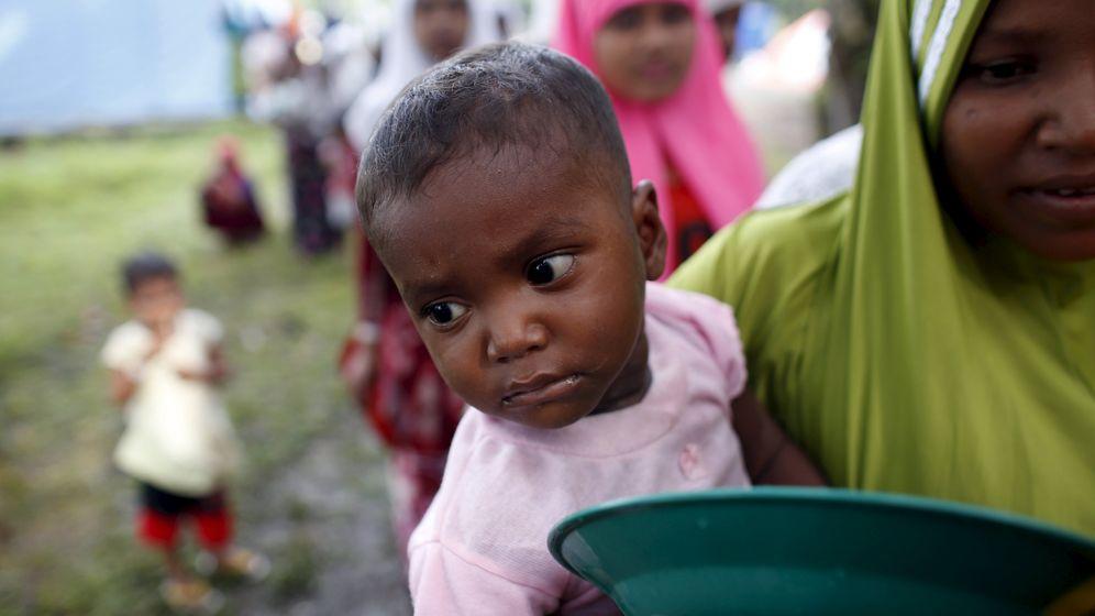 Boatpeople: Rohingya-Kinder auf der Flucht