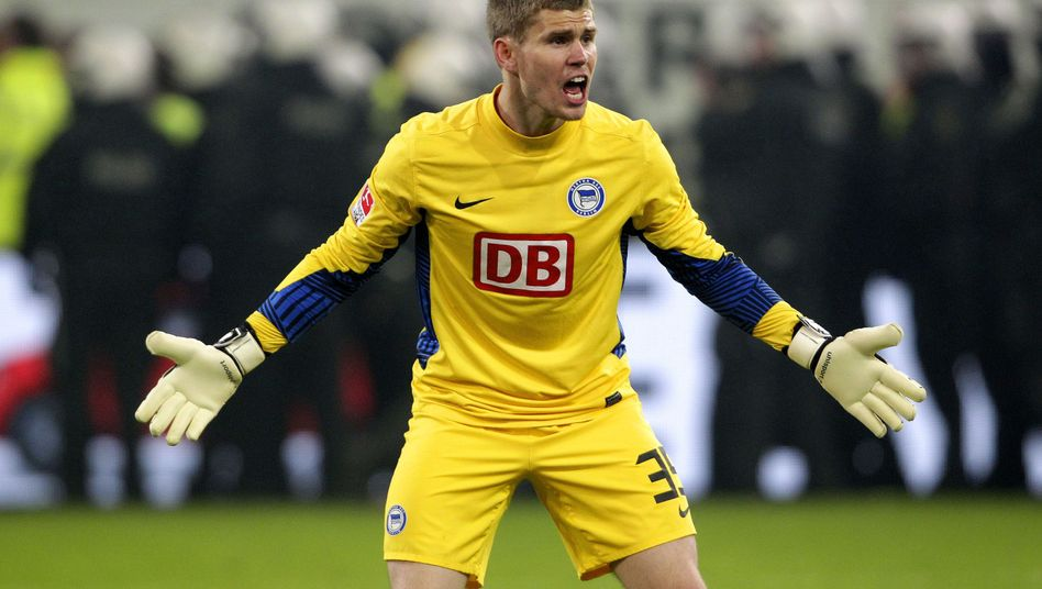 DB-Logo auf dem Hertha-Trikot: Bald verschwunden