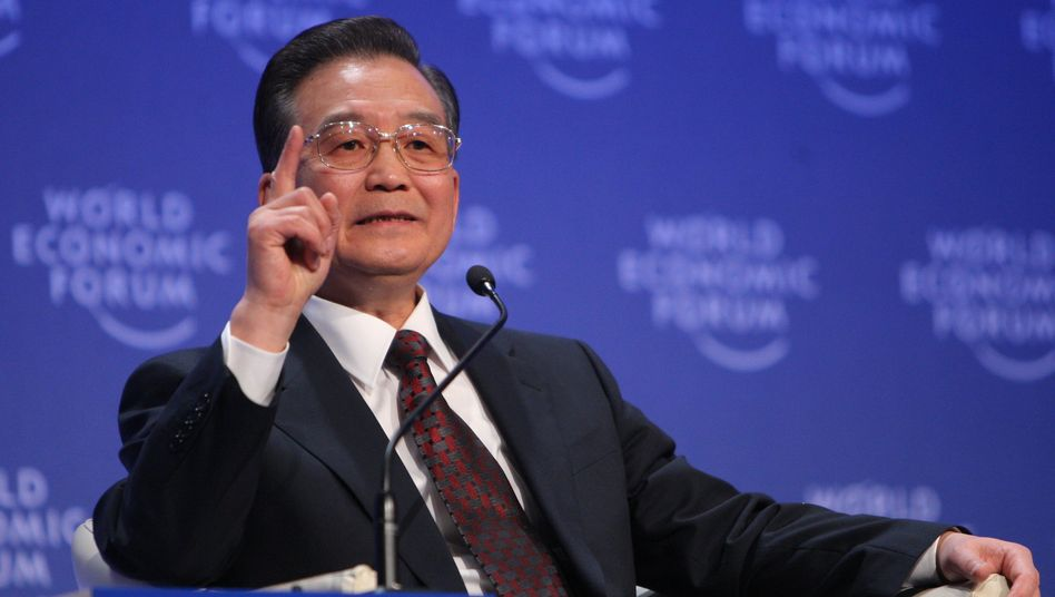 """Wen Jiabao (im Januar 2009): """"Gerechte und vernünftige Vereinbarung"""""""
