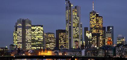 """Finanzviertel in Frankfurt am Main: """"Bankaktien sind nicht sehr populär"""""""