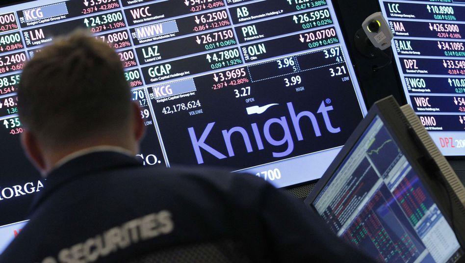 """Knight-Logo an der Wall Street: """"Nur das Telefon in die Hand nehmen"""""""
