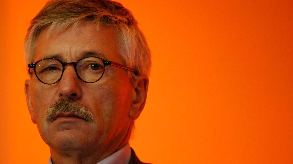 Thilo Sarrazin: Der SPD-Politiker will sich auch künftig zum Thema Integration äußern