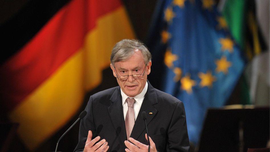 """Bundespräsident Köhler: """"Die Politik muss ihr Primat über die Finanzmärkte zurückgewinnen"""""""