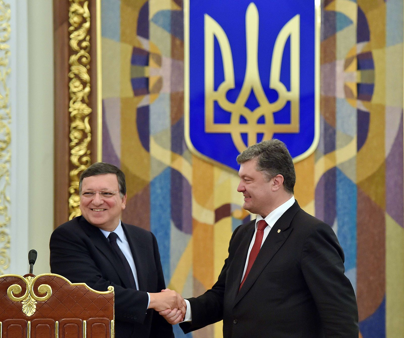 UKRAINE/Russland/EU/Barroso / Poroschenko