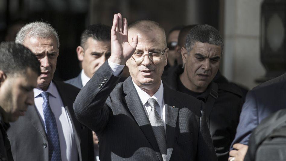 Rami Hamdallah in Gaza (Archivbild)