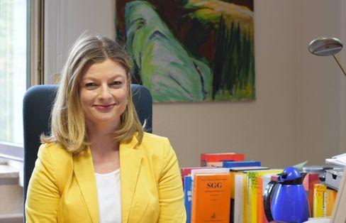 """Anwältin Cornelia Süß: """"Mein Lebenskonzept beruht darauf, dass ich viel arbeite"""""""