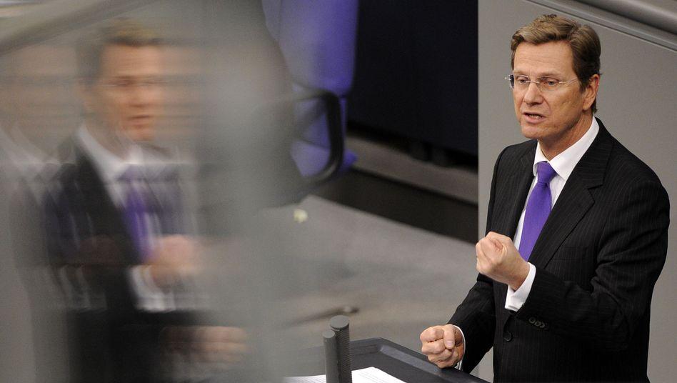 Außenminister Westerwelle: 50 Millionen Euro für ein Taliban-Aussteigerprogramm