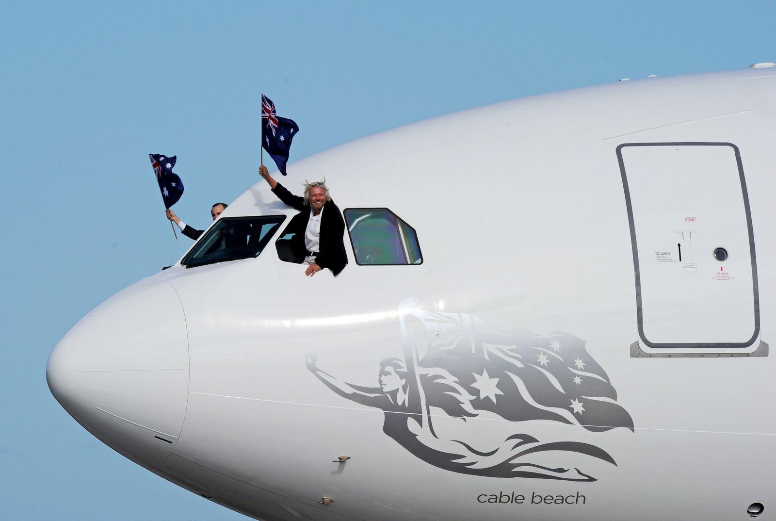 Australien Virgin Australia Richard Branson