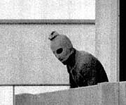 A member of the terrorist group which seized the Israeli Olympic team at the Munich Olympics in 1972.
