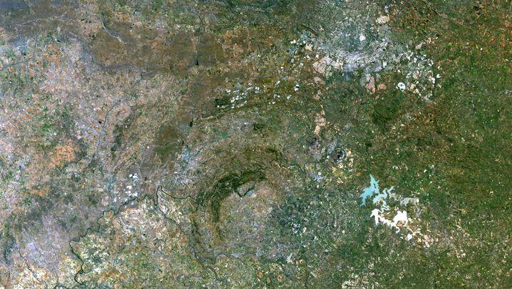 Riesige Einschlagkrater: Von Vredefort bis Nördlinger Ries