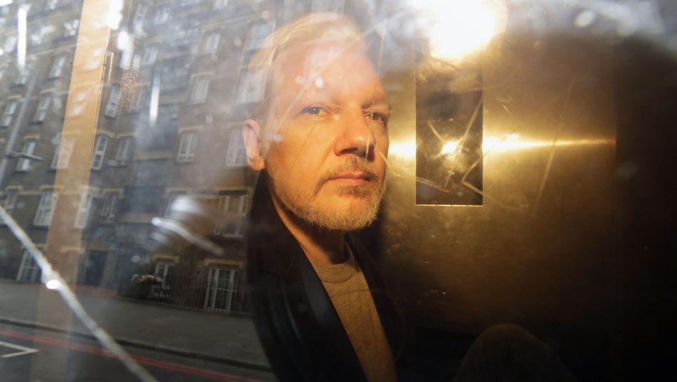 Julian Assange (Archiv)