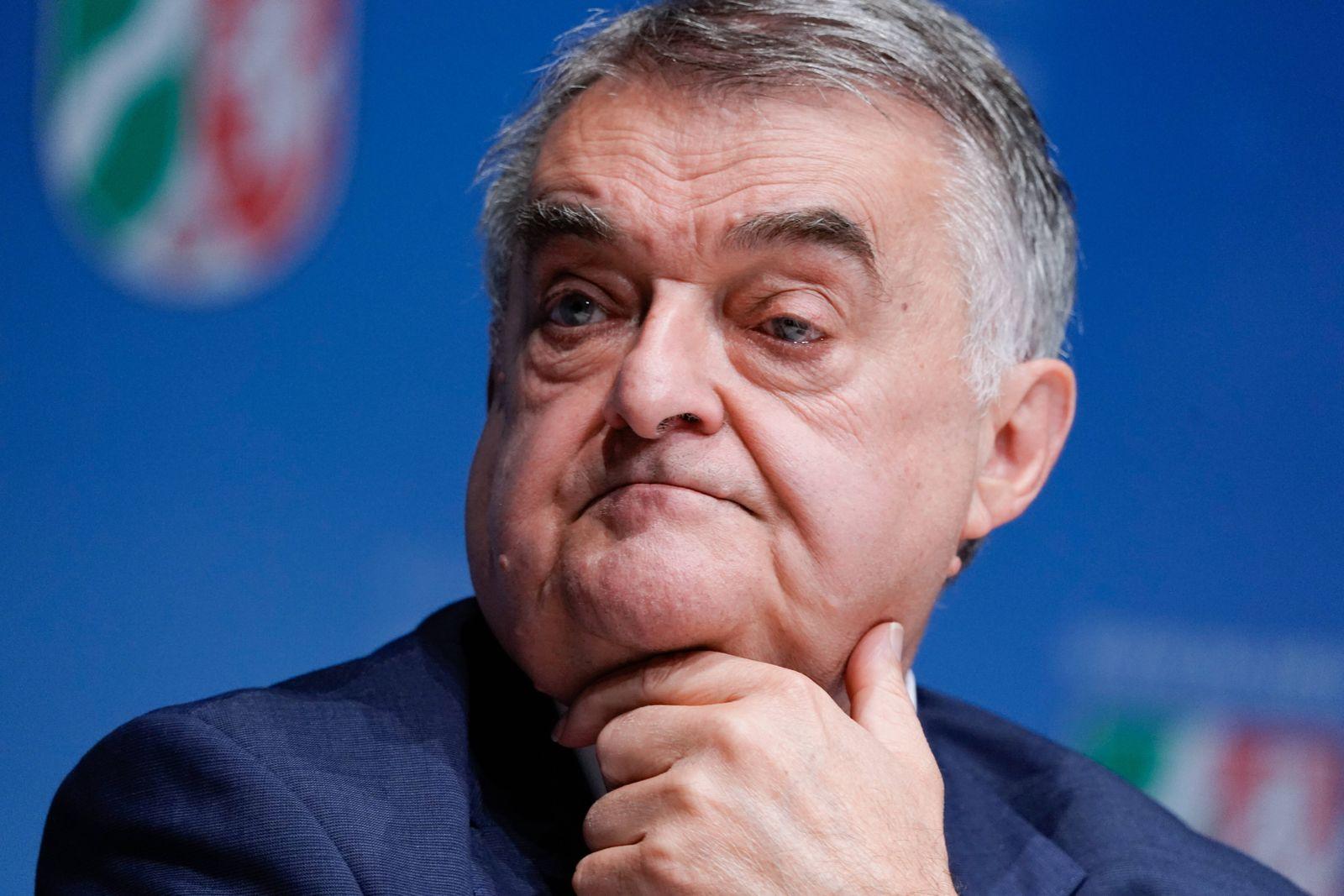 Innenminister von NRW bei seinem Pressestatement vom 16.09.2020 Aktuell, 16.09.2020, Duesseldorf, Innenminister von NRW