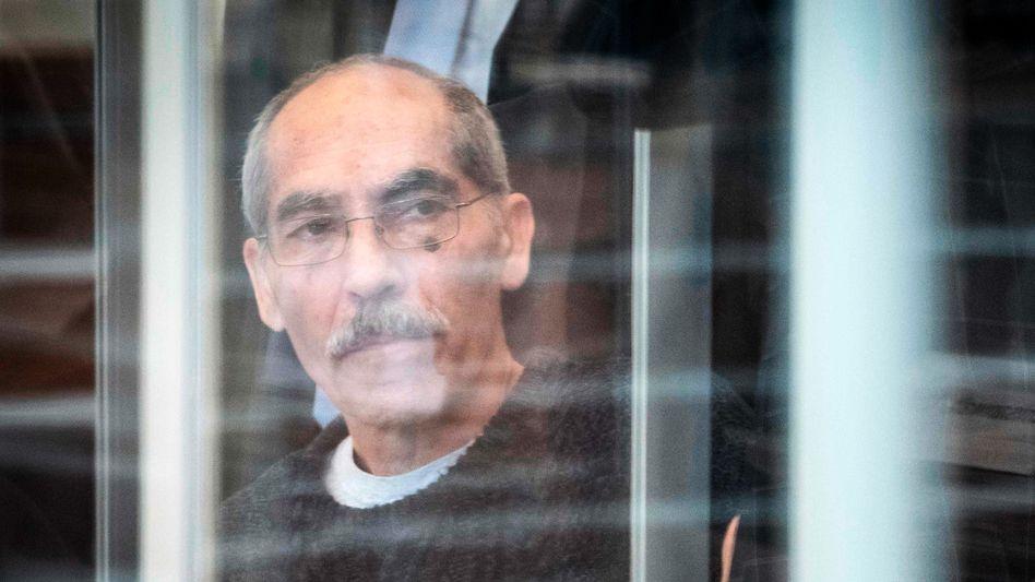 Anwar Raslan, der frühere Ermittlungschef der syrischen Staatssicherheit, vor dem Koblenzer Oberlandesgericht