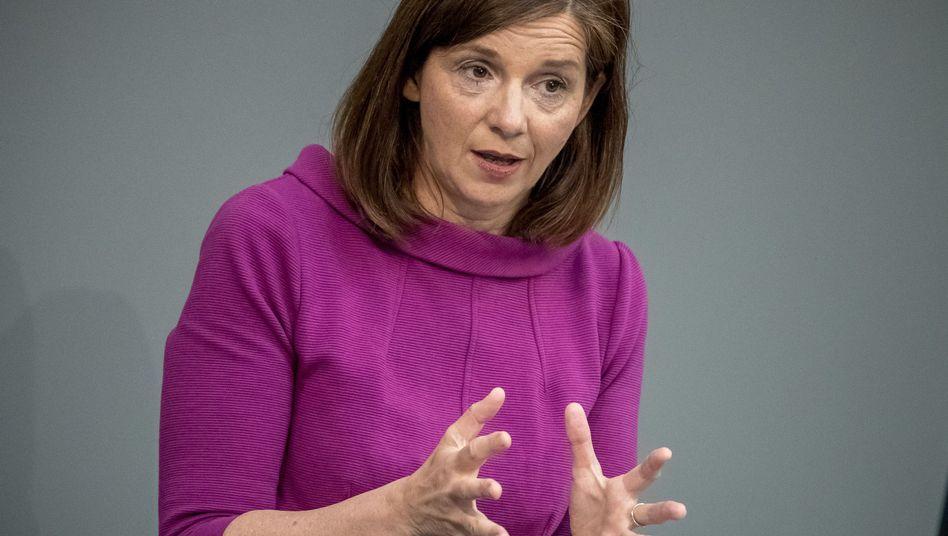 Katrin Göring-Eckardt, Fraktionsvorsitzende der Grünen