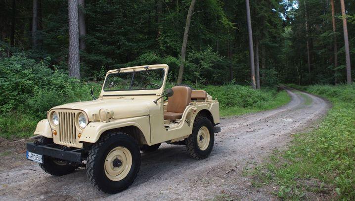 75 Jahre Jeep: Karriere als Zivilist