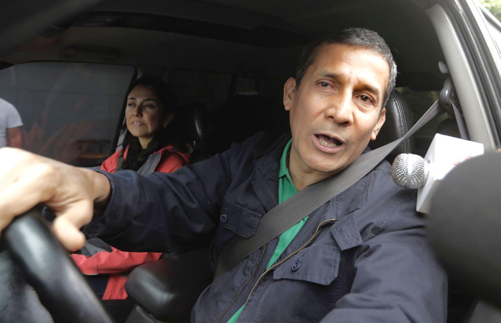 Perus Ex-Präsident Humala und seine Frau