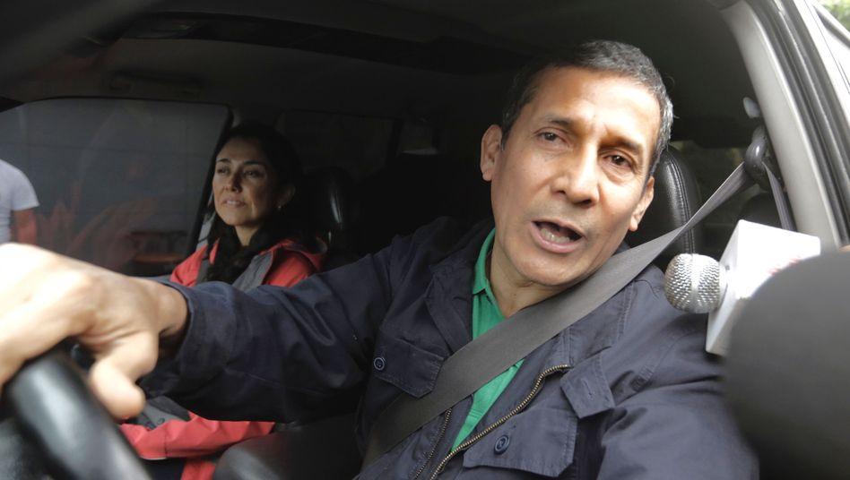 Ollanta Humala und Nadine Heredia