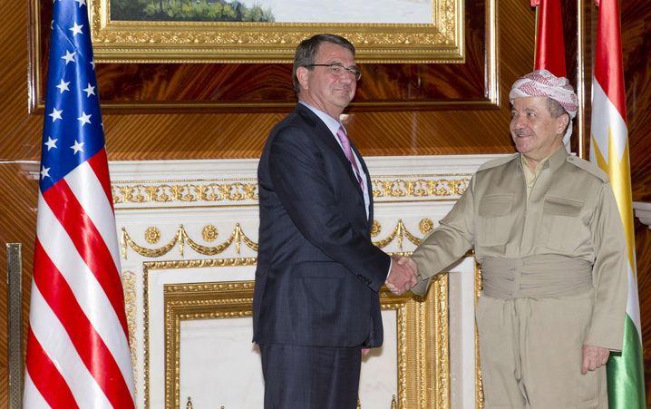 """Kurden-Präsident Barzani: """"Nicht das Leben kurdischer Zivilisten gefährden"""""""