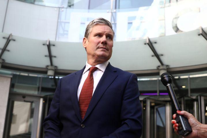 """Labour-Schattenminister für den Brexit Keir Starmer will eine """"Bruchlandung ohne Deal"""" verhindern"""