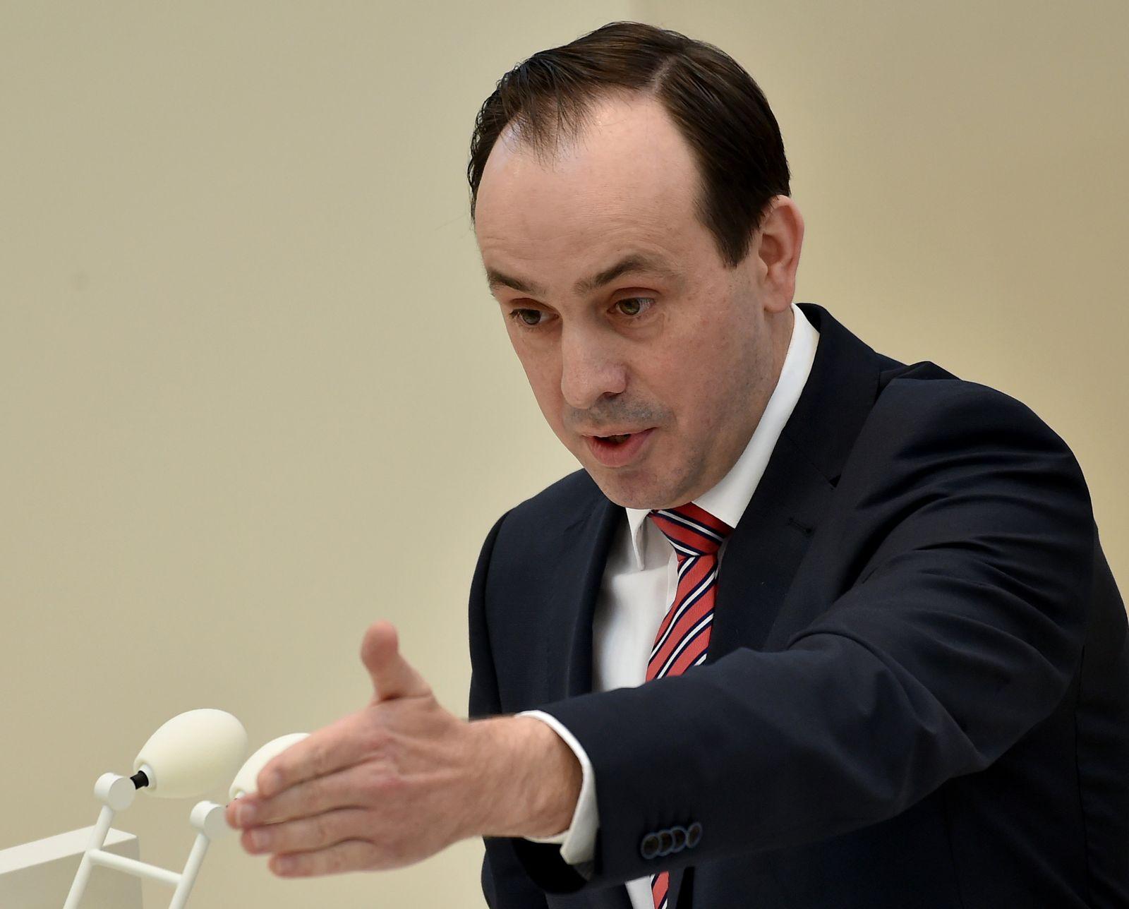 Junge CDU-Politiker/ Senftleben