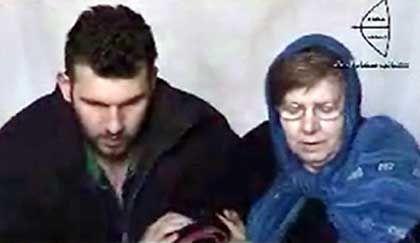 Sinan und Hannelore Krause: Die Geiselnehmer veröffentlichen am 10. März diese Aufnahme der beiden Verschleppten