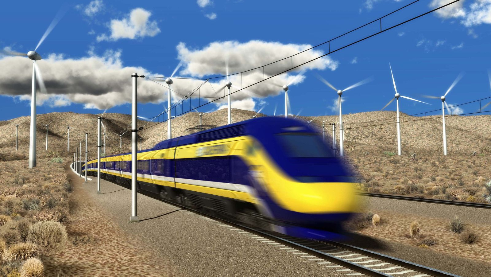 EINMALIGE VERWENDUNG High Speed Rail
