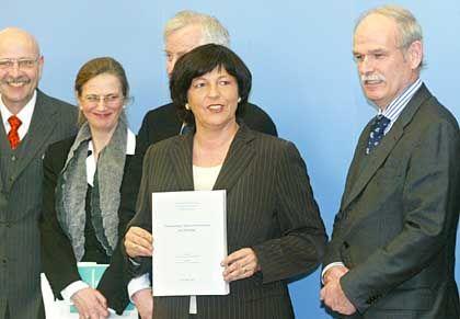 Ulla Schmidt und die sieben Weisen: Linke Tasche, rechte Tasche, weg sind die Kosten