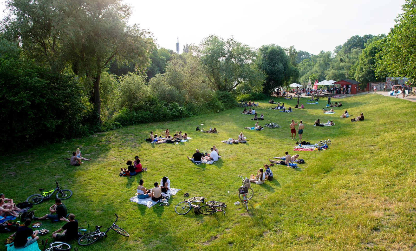 Sommerwetter in Hannover