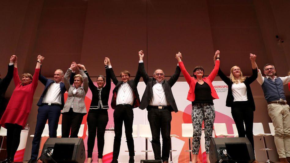 """Kandidaten für den SPD-Parteivorsitz : Wen wählen? """"Das ist jetzt euer Problem"""""""