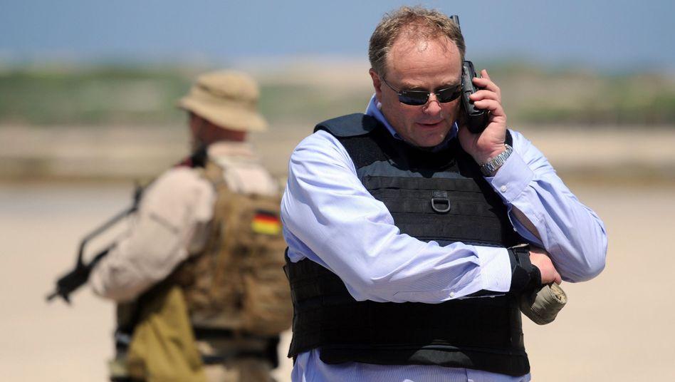 """Entwicklungsminister Dirk Niebel (2012): """"Ausdrücklich interessenorientiert"""""""