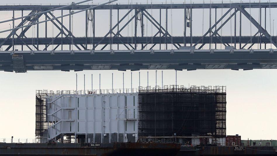 Mysterium im Hafen von San Franciso: Googles schwimmendes Rätsel