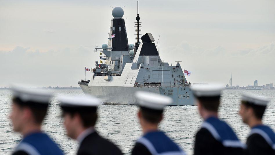 Zerstörer »HMS Defender« (Archivbild): Informationen über Zwischenfall mit Russland