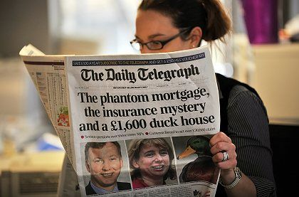 Thursday's Daily Telegraph newspaper published the latest installment in the expenses row saga.
