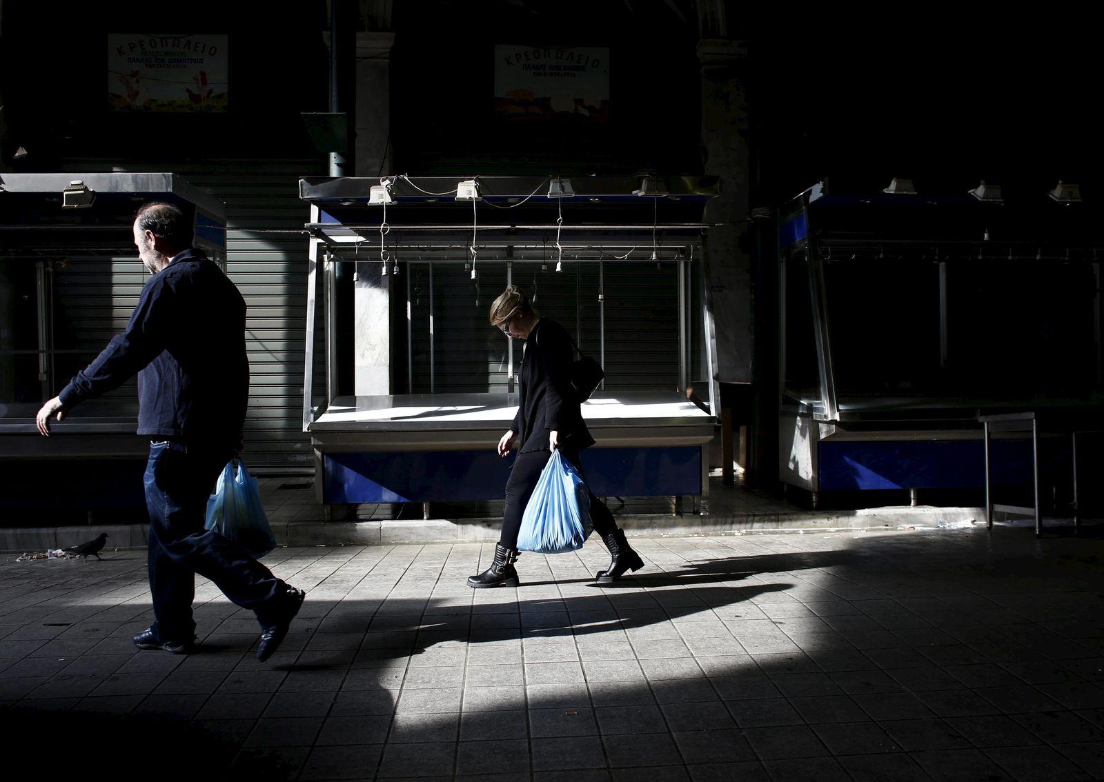 Griechenland Misere