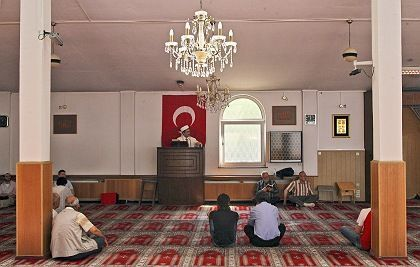 A mosque in Cologne, Germany: A study on imams in the country has found only a fifth have an academic education.
