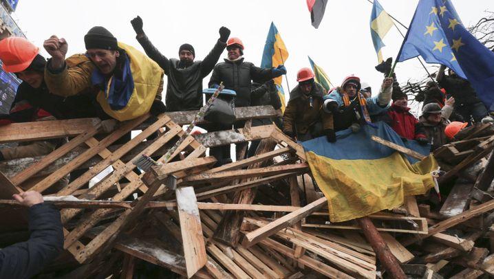 Protest in Kiew: Aufstand im Schneegestöber