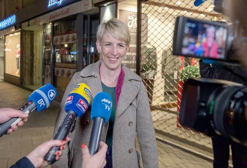 Grünen-Kandidatin für Münchens Rathaus, Katrin Habenschaden