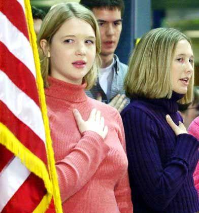 US-Schüler mit Flagge: Zündeln verboten?