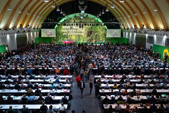 Grünenparteitag in Bielefeld im November 2019