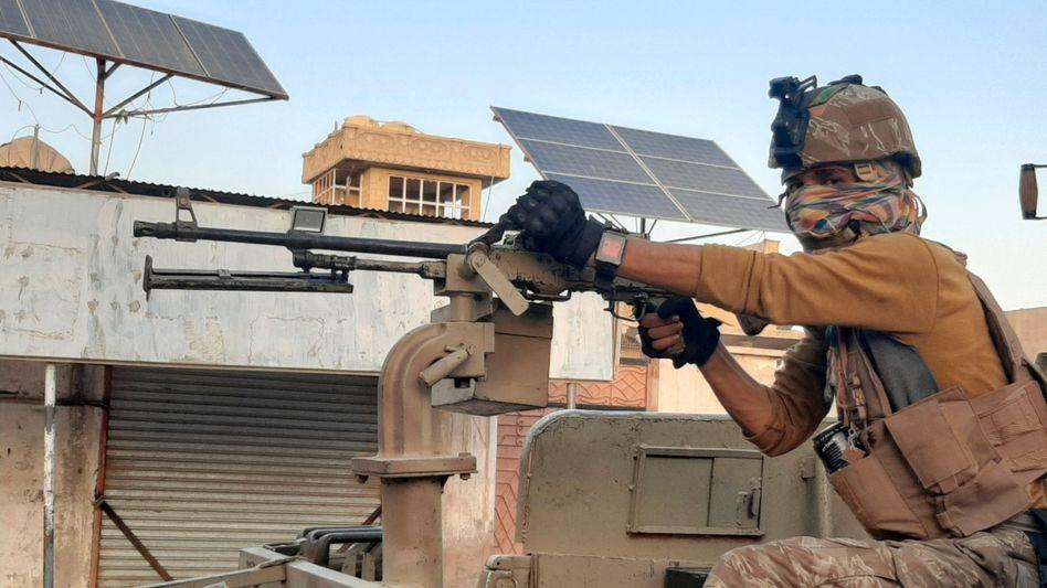 Afghanische Spezialkräfte kämpfen gegen die Taliban – hier in Laschkargah