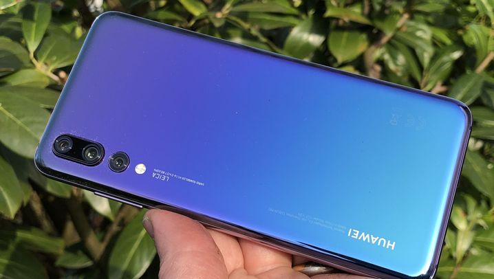 Das Dreikamera-Smartphone: Huawei P20 Pro im Test