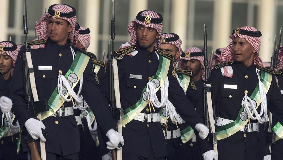 Saudische Nationalgarde: Streit zwischen Frankreich und Deutschland über Waffen-Deal