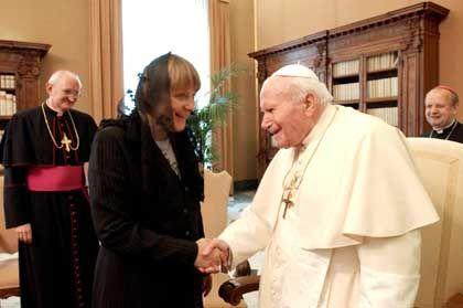 Angela Merkel beim Papst: Gott soll in die EU-Verfassung