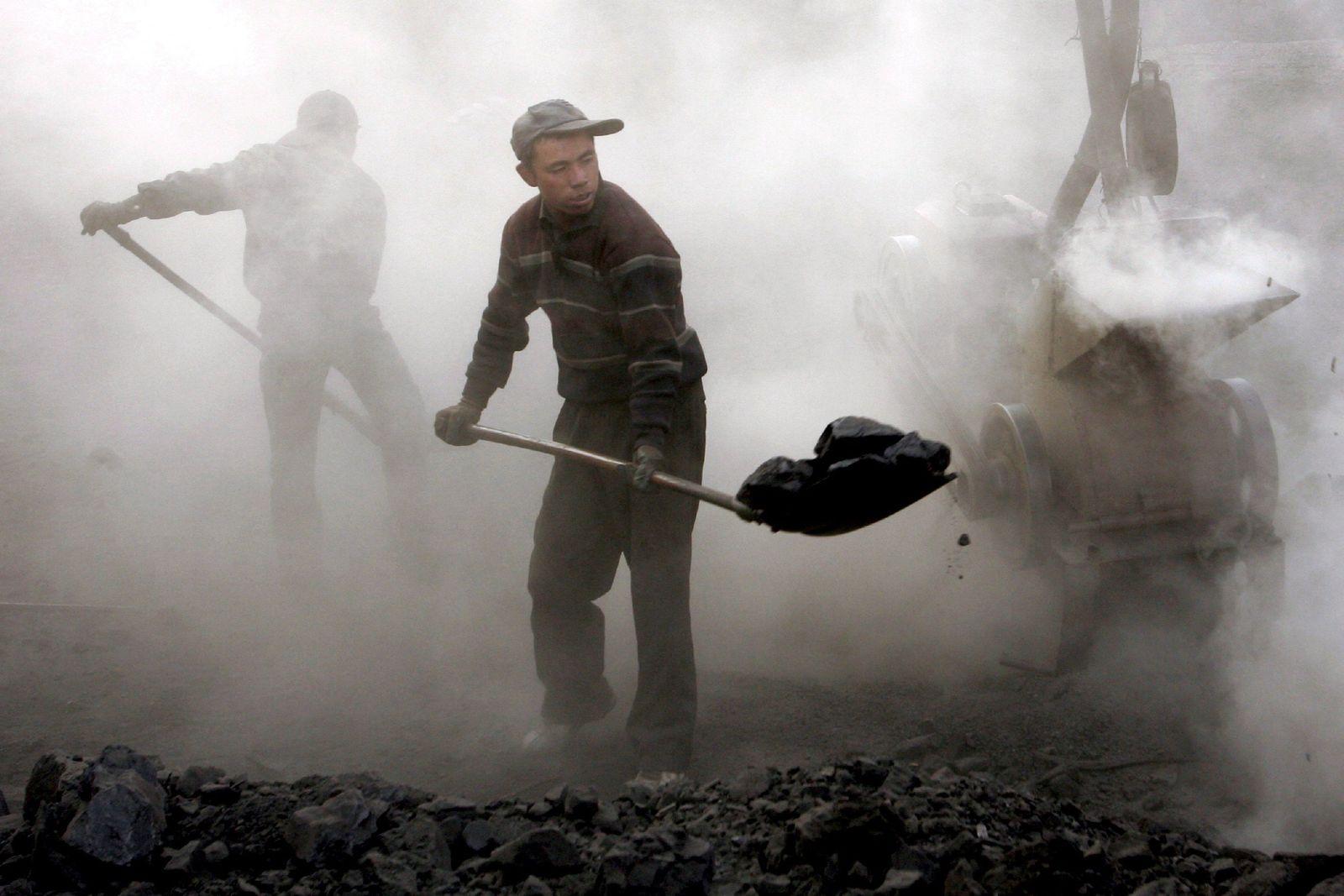 Kohleförderung in China
