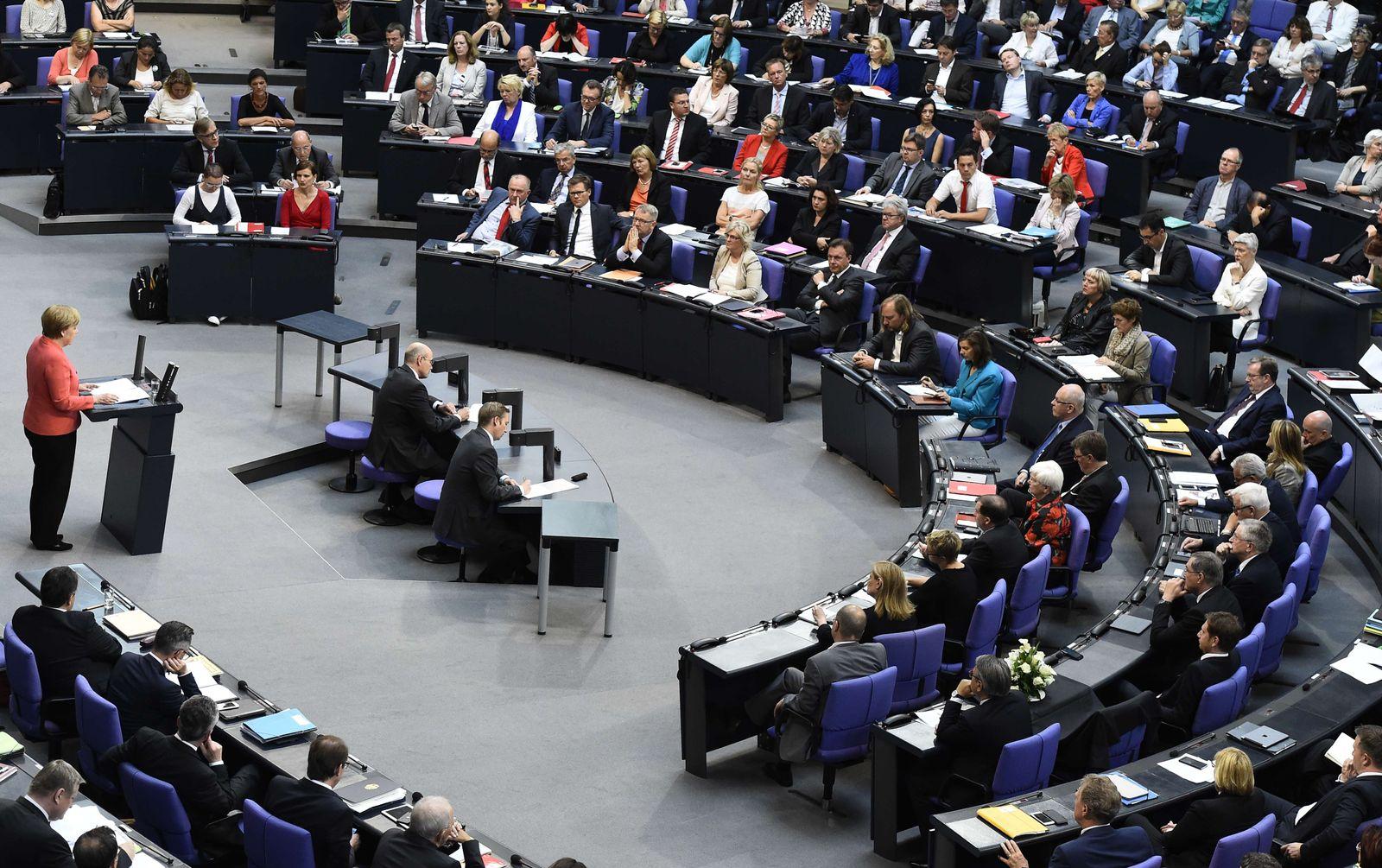 Bundestag/ Angela Merkel