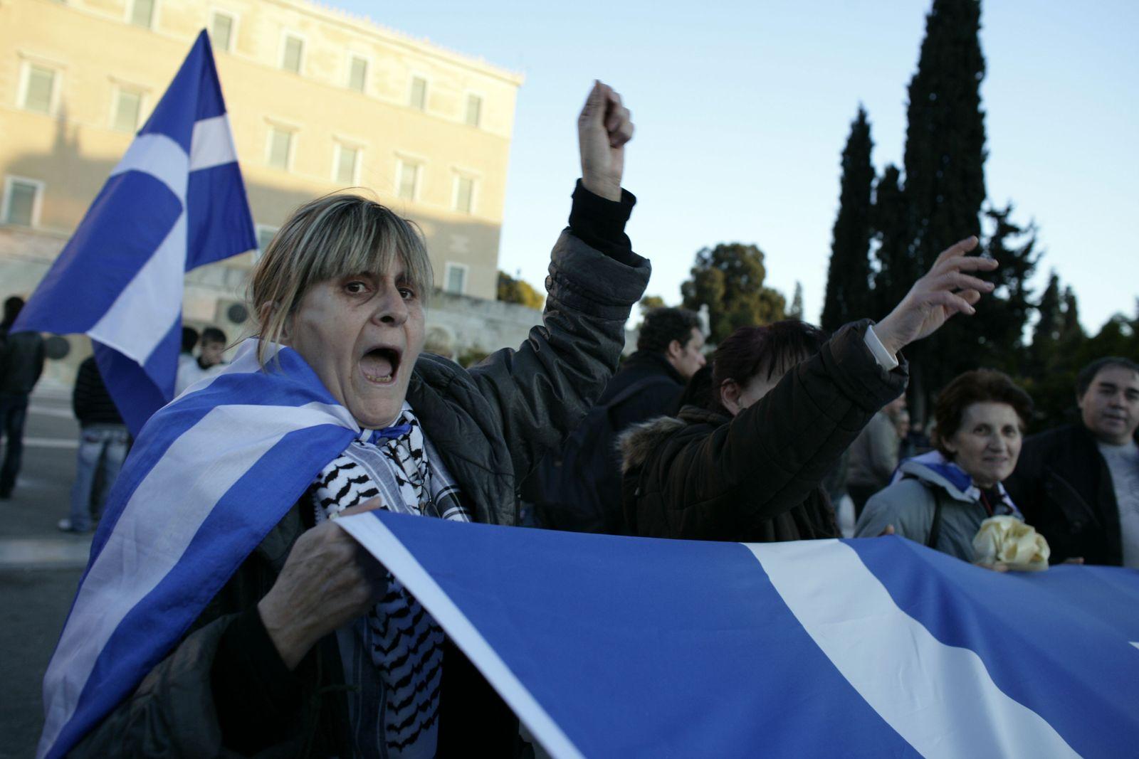 Griechenland/ Krise/ Protest