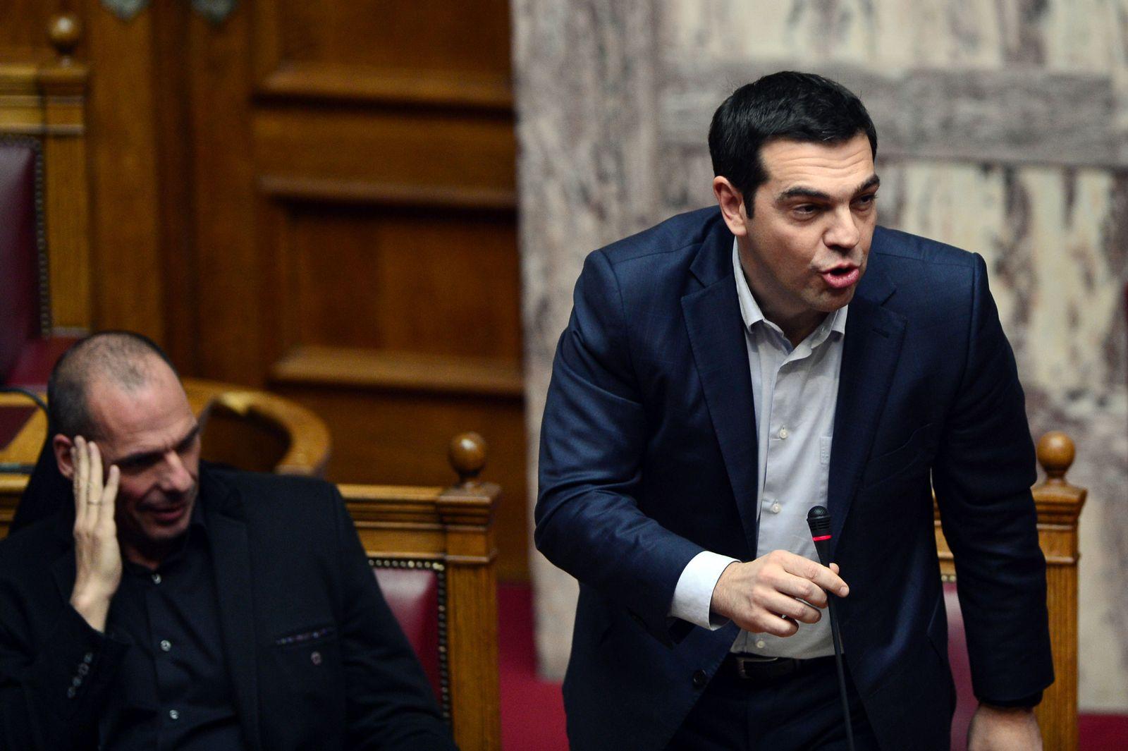 griechenland tsipras varoufakis