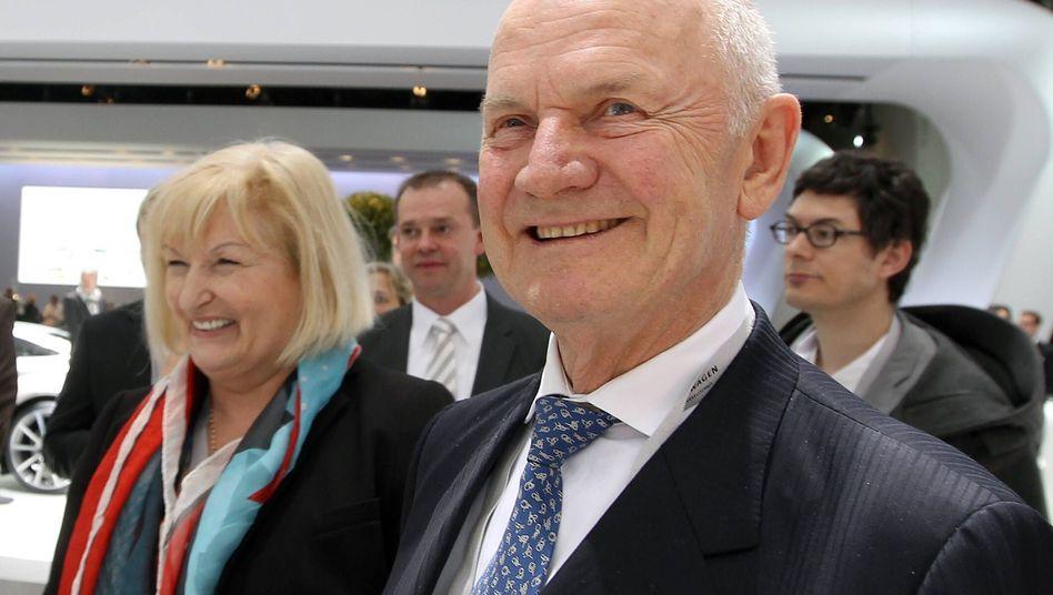 VW-Aufsichtsratschef Piëch: Spitzenreiter unter Deutschlands Chefkontrolleuren